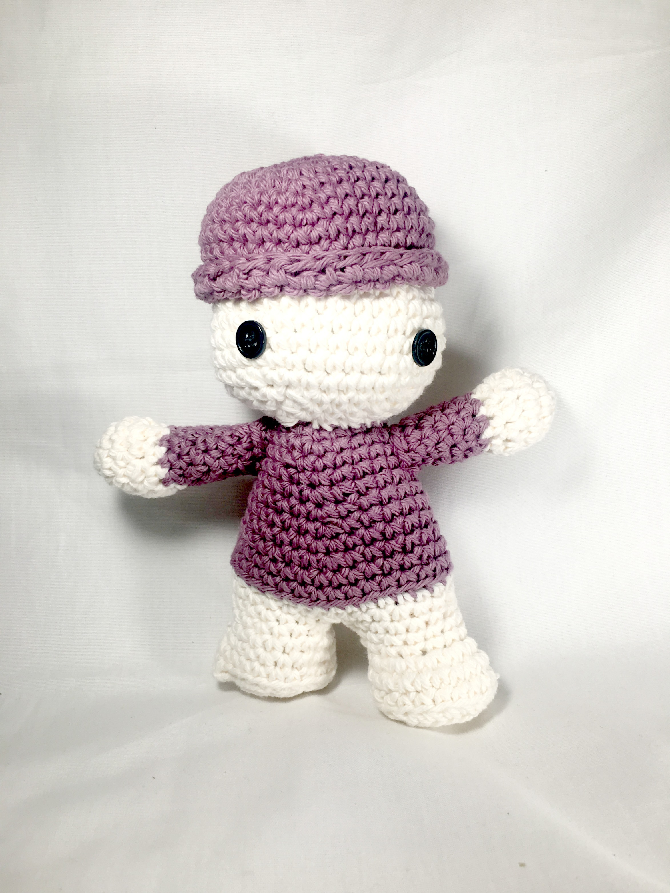 Amigurumi Doll Pattern with Four Styles and more!