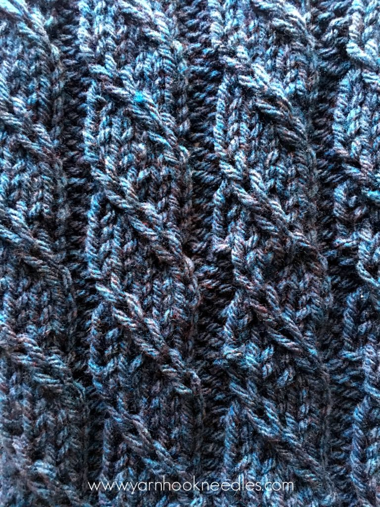 Twisted Trill Knitting Stitch with FREE Pattern Link