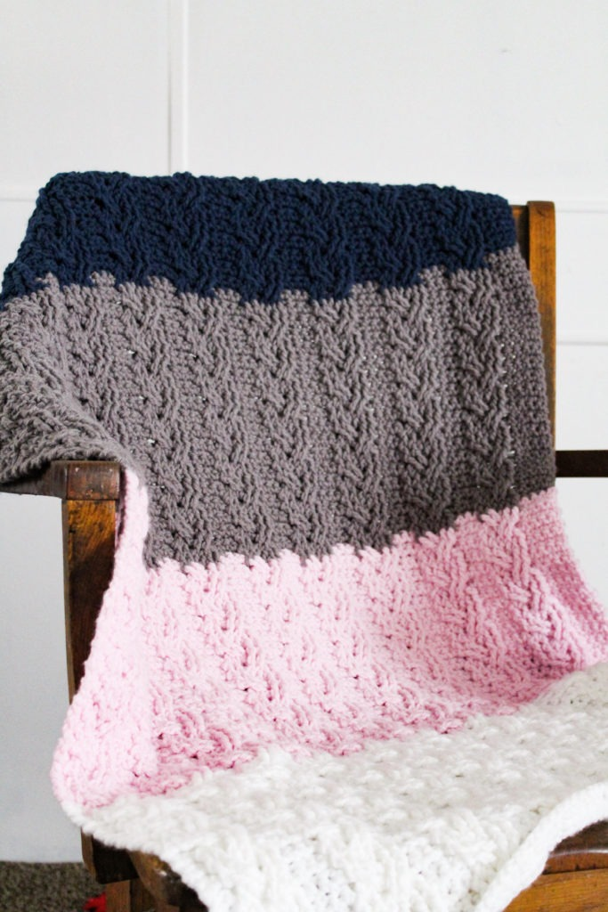 The Neapolitan French Braid Crochet Cable With Free Pattern