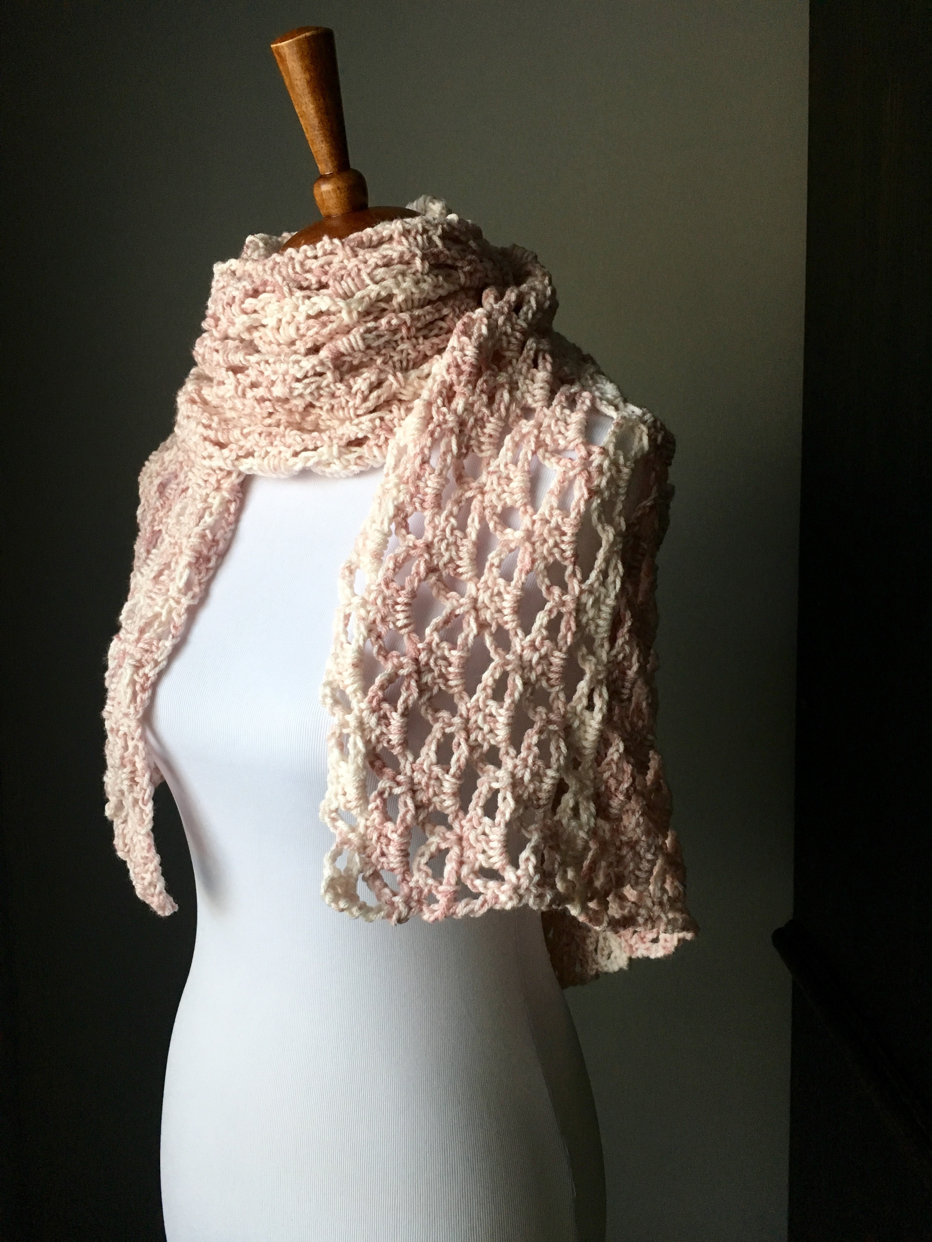 The Perfect Lacy Crochet Shawl with FREE Pattern! - YarnHookNeedles