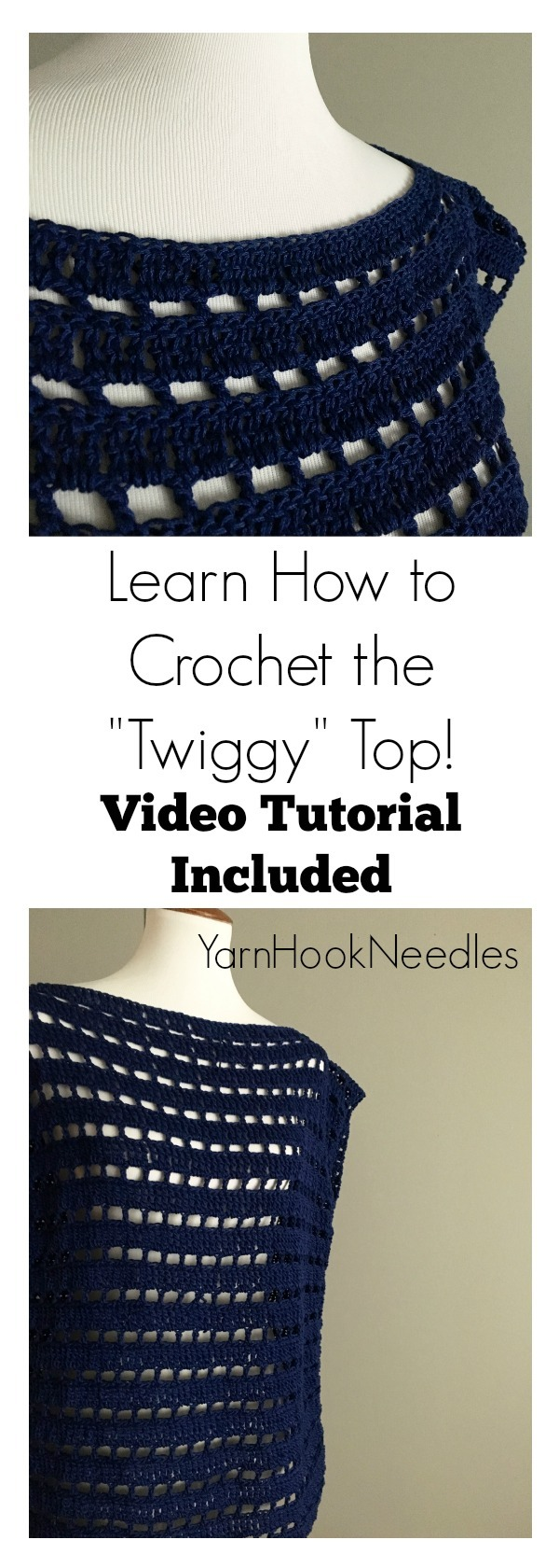 Learn How to Crochet This Cotton Summer Top! It\'s So Easy and ...