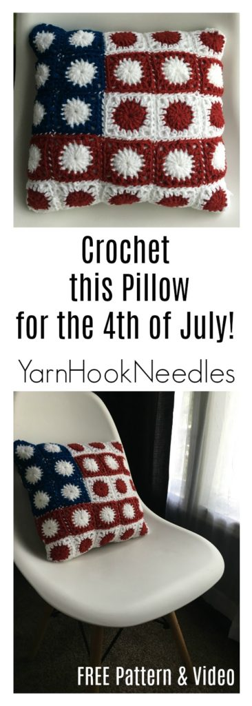 Crochet The Retro Circle Motif With A Free Pattern And Video