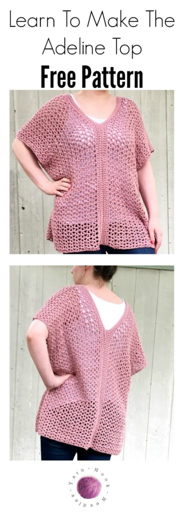 Learn to Make this Easy Cotton Crochet Top in Just a Few Hours ...