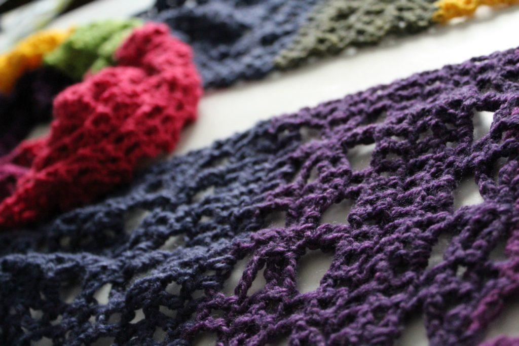 The Webster Mandala Scarf With A Free Crochet Pattern Yarnhookneedles