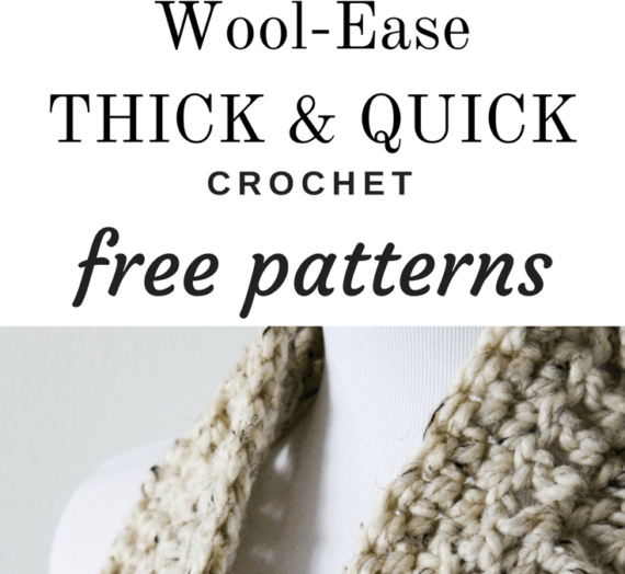 LionBrand Wool-Ease Crochet Pattern Round-Up!