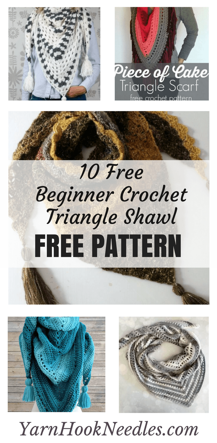 10 Simple Beginner Crochet Shawl Patterns For Free With Diagrams Pattern