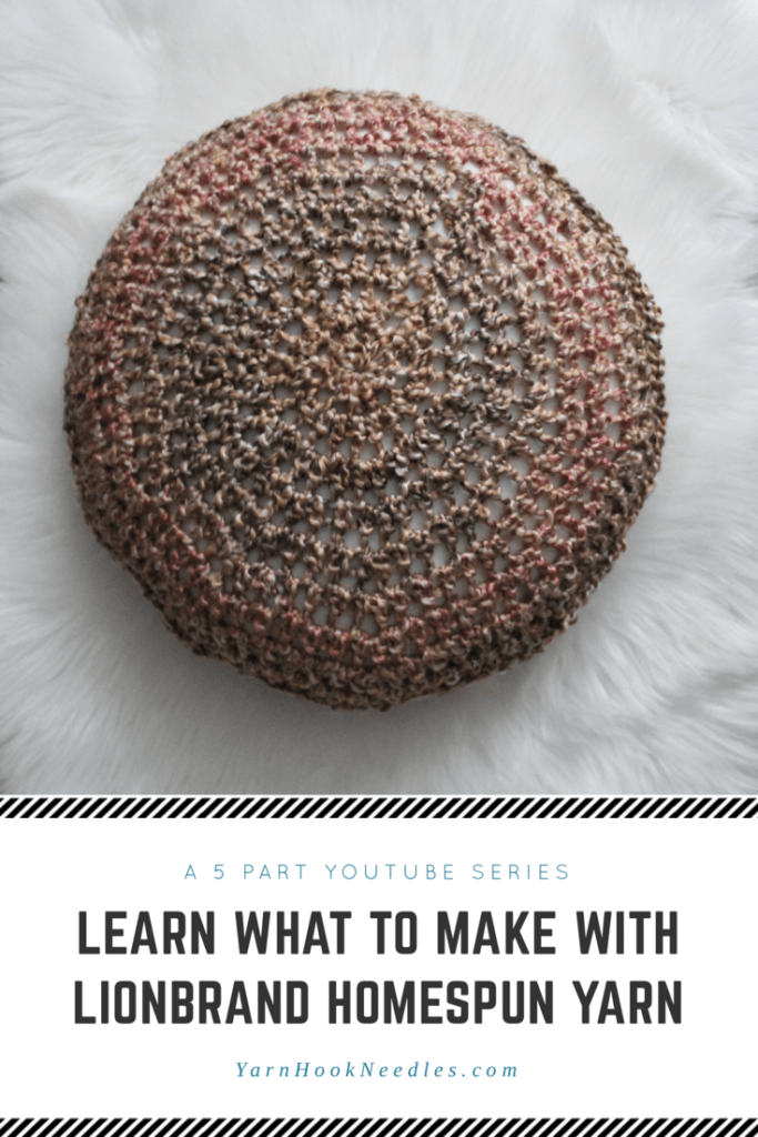 What To Make With Homespun Yarn A 5 Part Series With Free Patterns
