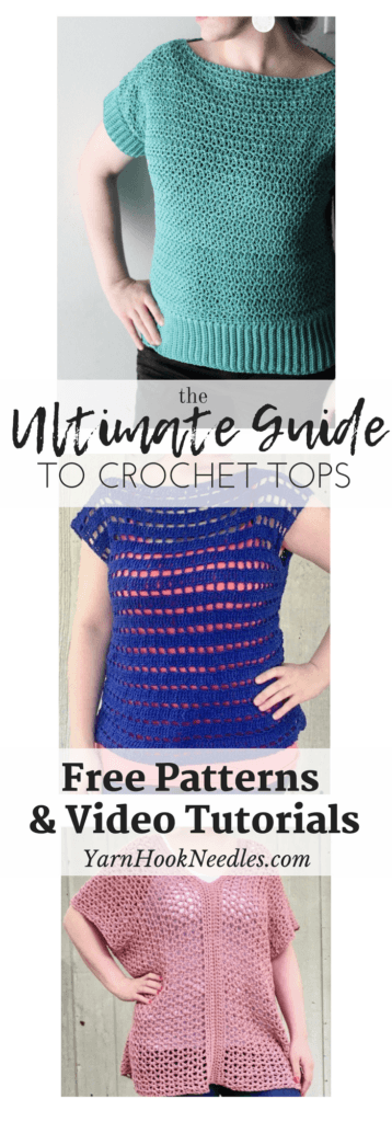 The Ultimate Guide To Crochet Tops With Free Patterns Yarnhookneedles