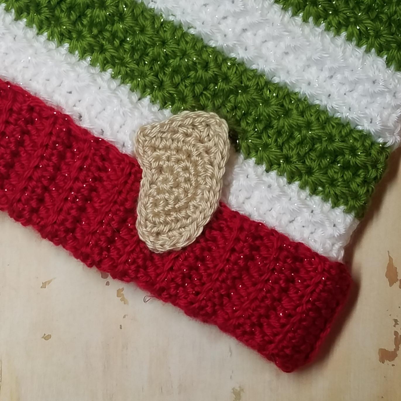 Christmas Elf Hat Crochet Pattern Yarnhookneedles