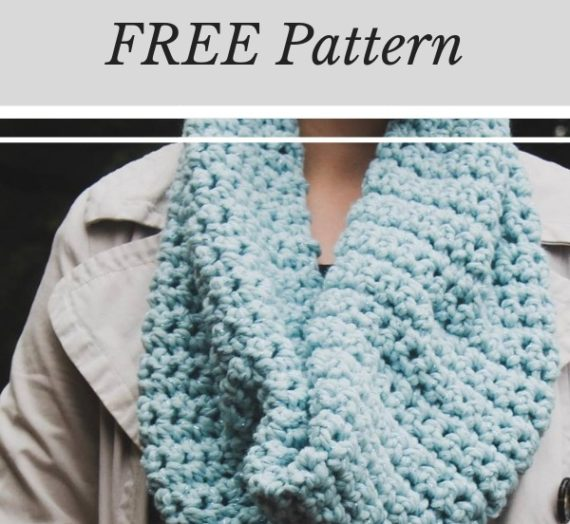 Easy Crochet Cowl Pattern FREE
