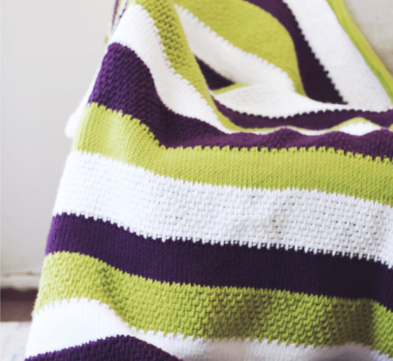 How To Tunisian Crochet A Blanket!